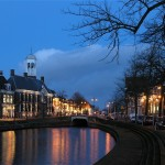 Dokkum bij night